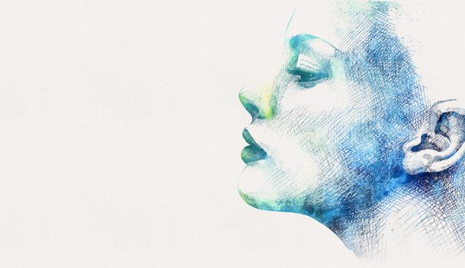 Illustrations vari es laurine moreau illustration - Dessin profil visage ...