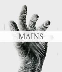 études variées des mains