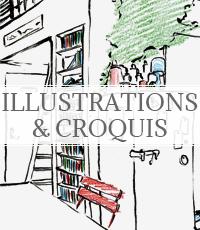 illustrations et croquis